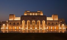 Royal #Opera House of Muscat, #Oman #Architecture
