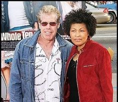 Actor Ron Perlman and wife Opal -- they've been married for decades.. fantastic for Hollywood.
