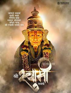 Hanuman Hd Wallpaper, Radhe Krishna Wallpapers, Sai Baba Pictures, God Pictures, Shree Ganesh, Ganesha, Happy Birthday Hd, Shiva Songs, Saints Of India