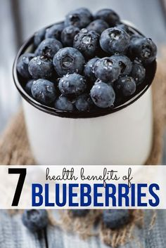 Health Benefits of Blueberries.