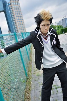 IT'S BON!! From Blue Exorcist <-- This cosplayer is AMAZING! Can we be friends? xD