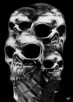 FANTASMAGORIK® SKULL CREAM by obery nicolas, via Behance