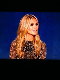 Heidi Klum Project Runway 2013 ~ love the length and color