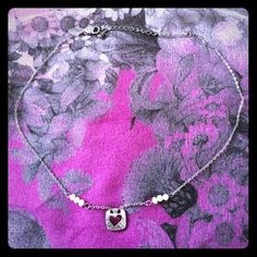 Lia Sophia Jewelry - Lia Sophia Heart and Pearl Necklace