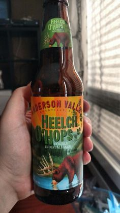 Anderson Valley Heelch O' Hops! F'n tasty!