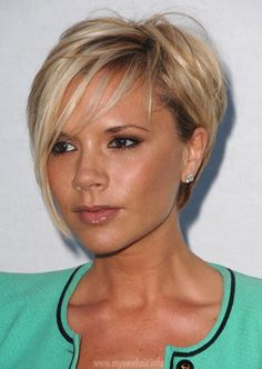victoria beckham short messy cut - Google Search