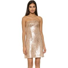 Metallic sequin cocktail dresses