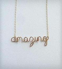 Amazing Necklace by Aziza Jewelry on Scoutmob Shoppe