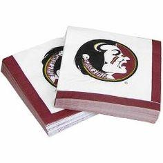 Luncheon Paper Napkin w/ Seminole Logo