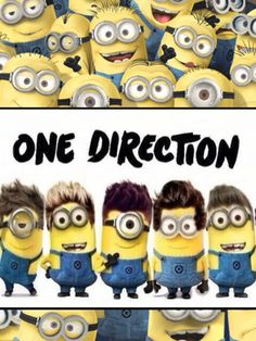 One direction minions!