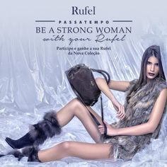 Amostras e Passatempos: Passatempo Be a Strong Woman with your Rufel