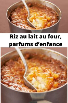 Riz au lait au four, parfums d'enfance – Page 2 – Mes Recettes Mousse Dessert, Dessert Sushi, Fall Recipes, Healthy Dinner Recipes, Ricardo Recipe, Easy Desserts, Food Hacks, Food Videos, Creme
