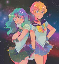 Sailor Moon Gif, Watch Sailor Moon, Sailor Moon Fan Art, Sailor Neptune, Sailor Uranus, Sailor Moon Crystal, Sailor Mars, Sailor Scouts, Manga Games