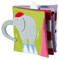 modern baby toys by IKEA Baby Toys 6 Months, Ikea Book, Book Libros, Elephants Playing, Book Of Circus, Wishes For Baby, Fantastic Baby, Busy Book, Infant Activities