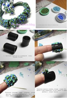 Diy Jewelry : bubble pattern tutorial and inspiration bracelet -Read More – Polymer Clay Kunst, Fimo Clay, Polymer Clay Projects, Polymer Clay Creations, Polymer Clay Beads, Clay Design, Clay Tutorials, How To Make Beads, Jewelry Crafts