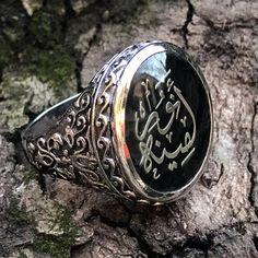 Anillo de los hombres de Turco del otomano 925 plata