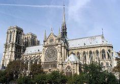 Cathédale Notre Dame de Paris, Paris - France