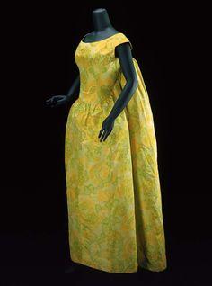 Cristóbal Balenciaga (Spanish (active in France), 1895–1972), Woman's evening…