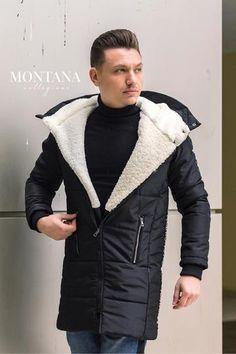 Geaca iarna barbati 2019 Winter Jackets, Fashion, Winter Coats, Moda, Winter Vest Outfits, Fashion Styles, Fashion Illustrations