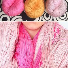 Kettle Yarn Co. ISLINGTON - new 2015 hues! #parapadschada #marigold #peony