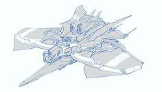 ArtStation - Assault Drone Draft, Elijah McNeal