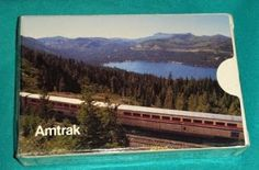 Multipart Mud Collectibles: Amtrak Playing Cards, Sealed in Box
