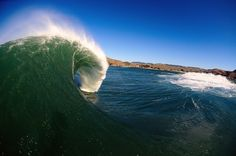 Cold, offshore slabs are not for the faint of heart in Central California. Photo: Amerson