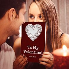 Valentine's Day is February -- Get them a gift they'll love! Create your own personalized gift book that lists all the reasons why you love someone. Hate Valentines Day, Valentine Day Crafts, Valentine Ideas, Cute Gifts, Diy Gifts, Heart Day, Love Days, Gifts For My Boyfriend, Appreciation Gifts