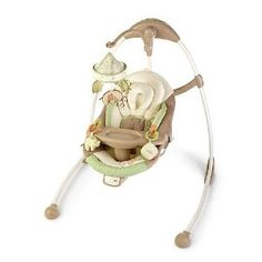 Bright Starts Ingenuity Cradle and Sway Swing byBright Starts. Looks like the perfect gender neutral baby swing.  $299 on amazon