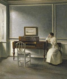 Por amor al arte: Vilhelm Hammershøi