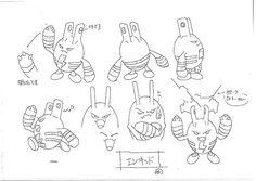 anime settei, , pocket monster, settei pre, settei sheet, model sheet First Pokemon, Cute Pokemon, Character Model Sheet, Character Design, Concept Art Books, Pokemon Sketch, Pokemon Champions, Beast Creature, Original Pokemon