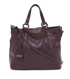 A. BELLUCCI Womens New Made In Italy Leather Convertible Satchel MSRP: $495 NWT