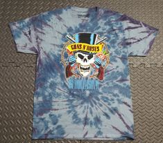 Guns N Roses Womens Juniors T Shirt Rock Punk Fashion Band Tee NWOT MED LRG