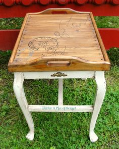 postage table from Under A Pile of Scrap!