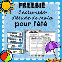 Summer is quickly approaching! These Summer Word Work Activities will certainly motivate your students through that final stretch at the end of the year! ********************************************************* Looking for more Word Work Activities?