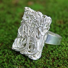 Novica Handcrafted Sterling 'Energized' Ring