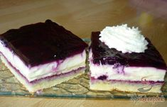 Blueberry pie with delicious cream Top-Rezepte. Easy Vanilla Cake Recipe, Easy Cake Recipes, Sweet Recipes, Mousse Au Chocolat Torte, Salty Snacks, Cake Toppings, Coffee Cake, Hungarian Recipes, Fun Desserts