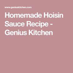 Homemade Hoisin Sauce Recipe - Genius Kitchen