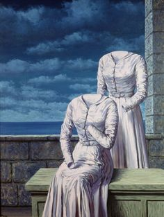 René Magritte , Les cornes du More Pins Like This At FOSTERGINGER @ Pinterest