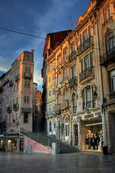 Coimbra, Portugal. Country's medieval capital. Buzzing ancient university town. Stay....Hotel Quinta das Lagrimas in the old house. Visit uni library. Shop around Rua do Quebra Costas. Eat at Loggia Restaurant in the museum with views of dome of Se Velha cathedral and Mondego river.