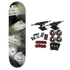 Alien Workshop Skateboard Complete Kitschcraft Black 8.0'