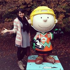 The Abroad Channel visiting the Charles Schulz Musem in Santa Rosa, CA.  Like out page and stay updated on my adventures. https://www.facebook.com/theabroadchannel