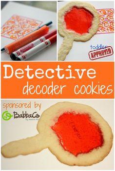 Genius! Crime-solving #cookies