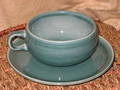 russel+wright+pottery | Russel Wright Steubenville American Modern Seafoam Green Demi Cup ...