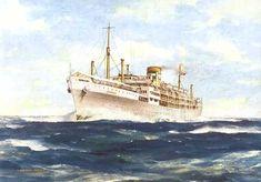 Paquete Império, ao serviço entre 1948-1974, transportava 799 passageiros