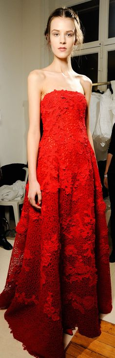 ♛ ♛  VIP Pass Backstage Fashion Show  {backstage}  ♛ ♛    Backstage at Valentino Couture Spring 2013