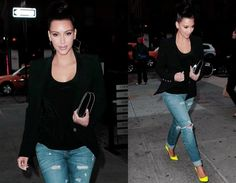 A black blazer and jeans will never not be one of my favorite outfits.