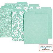 Vertical files at Staples by Martha Stewart