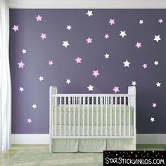 Vinilo infantil - Estrellas color a escojer  www.starstickvinilos.com