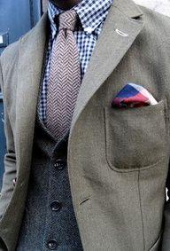 3 piece suit | Tumblr